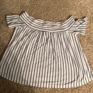 AE off the shoulder top!